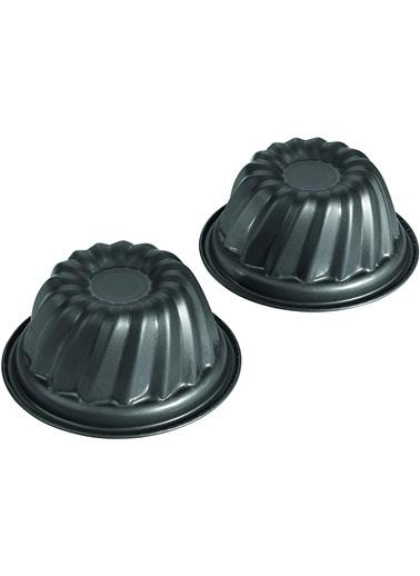Zenker Zenker 8717 Yapışmaz Kaplamalı Klasik Dilimli Paslanmaz Çelik 2'li Kek Kalıbı 12 cm Renkli